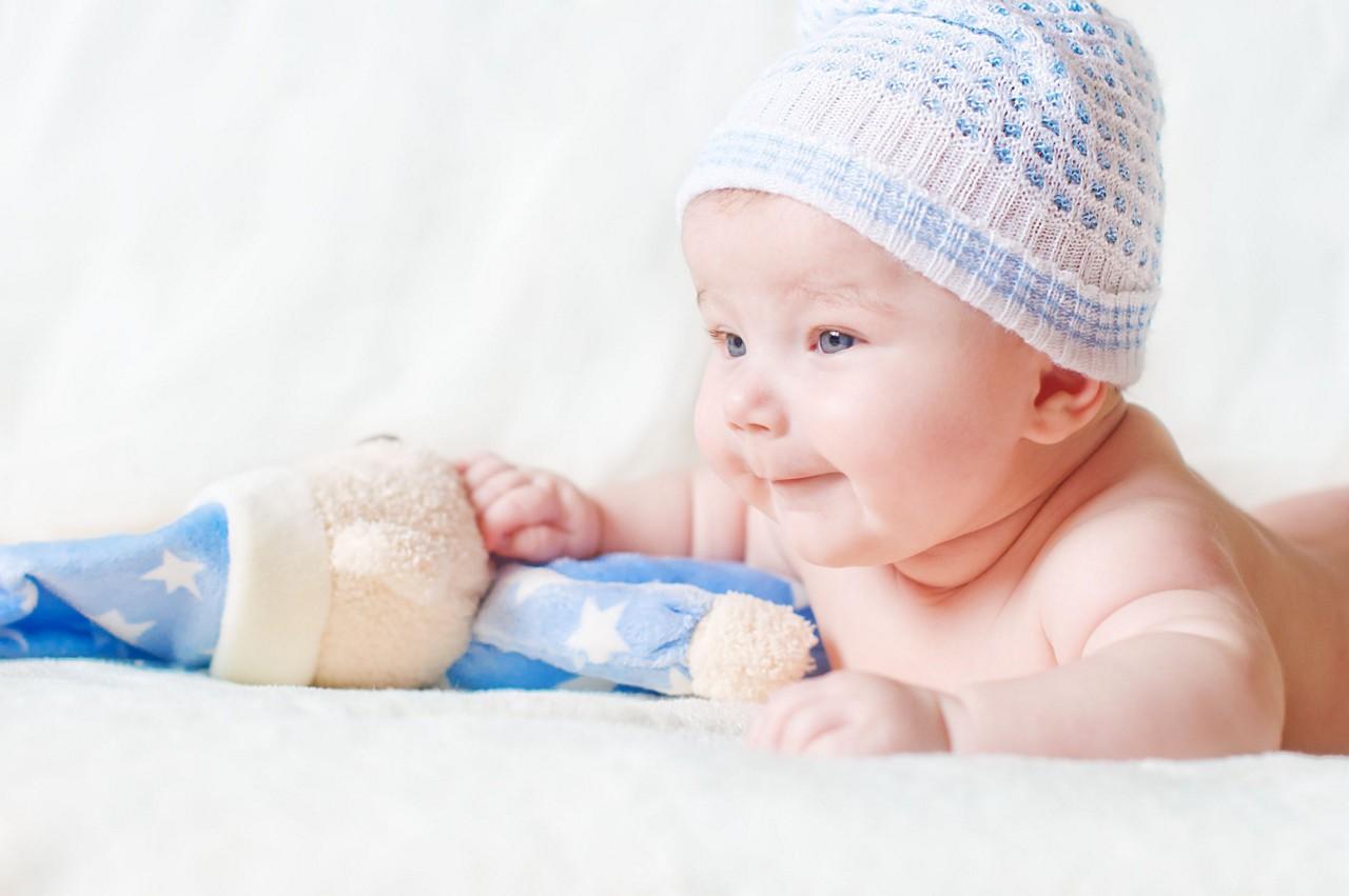 3months baby development