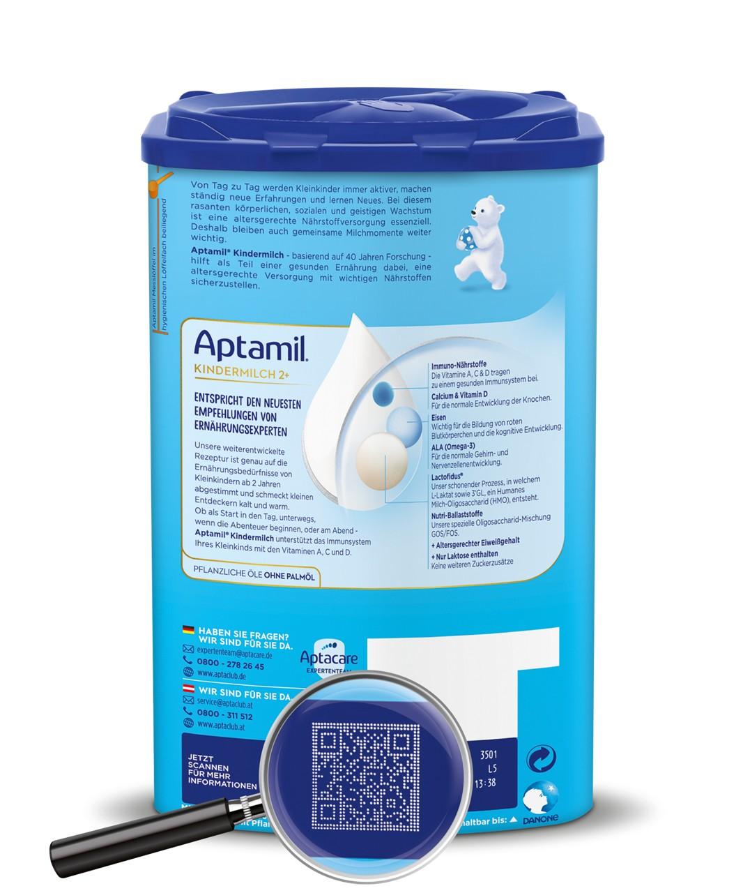 Aptamil EZP BOP ROLEX Code Lupe GUM 2
