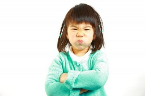 Angry kid
