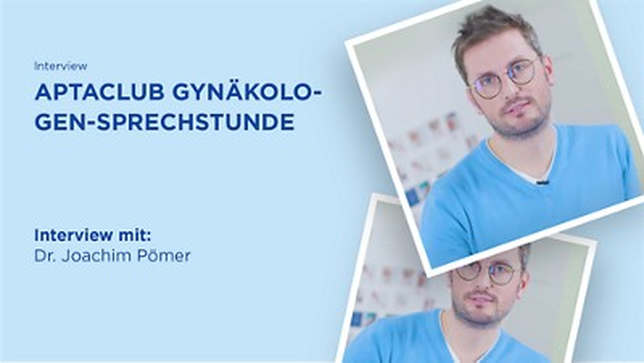 Gynäkologen-Sprechstunde mit Dr. Joachim Pömer