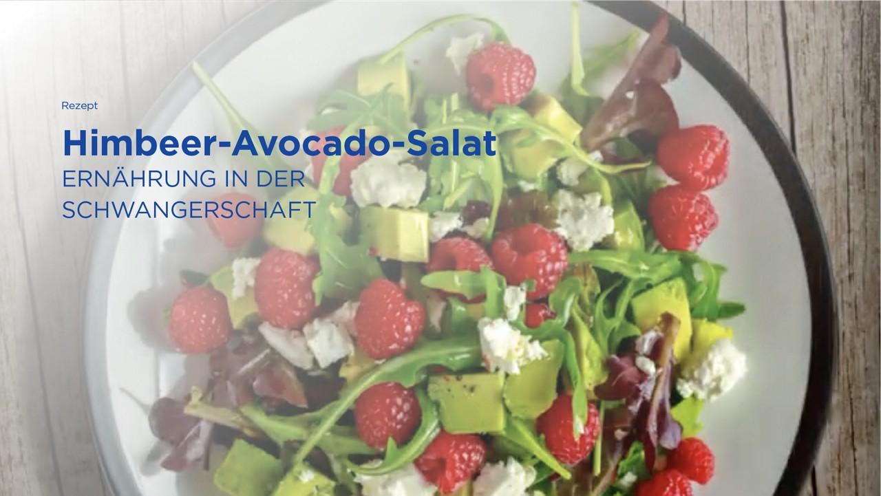 Rezept: Himbeer-Avocado-Salat