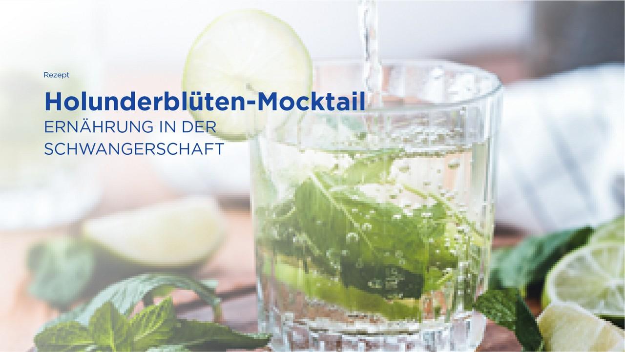 Rezept: Holunderblüten Mocktail