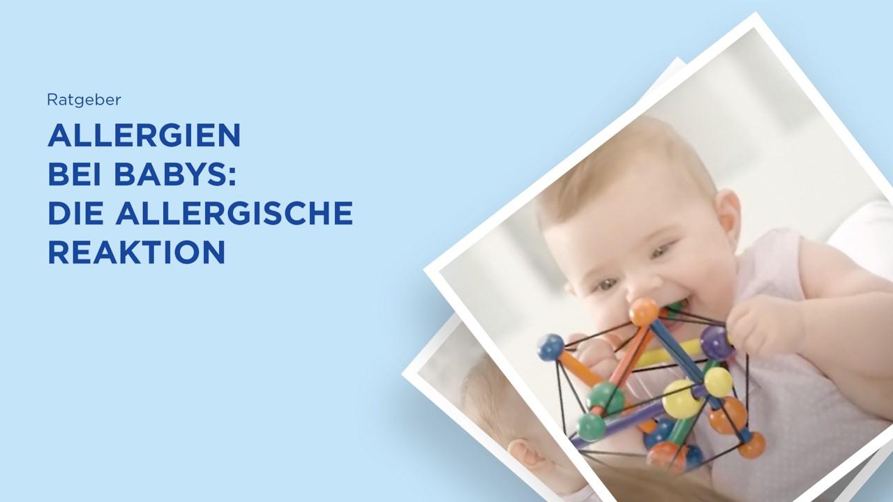 Allergien bei Babys: Allergische Reaktion