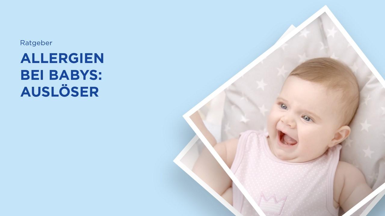Allergie Auslöser Baby schreit