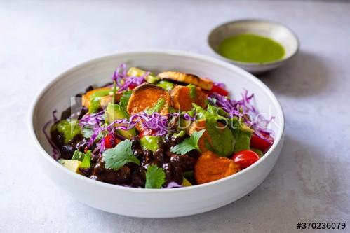 Mexikanische Süßkartoffel-Bowl
