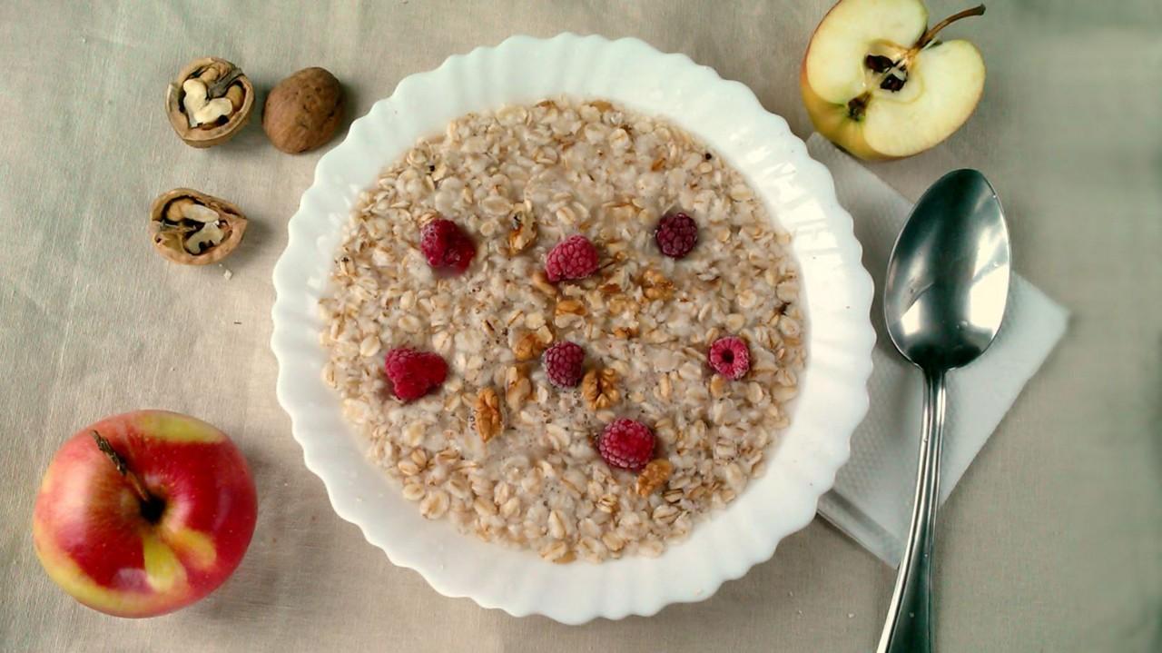 Apfel-Birnen-Porridge