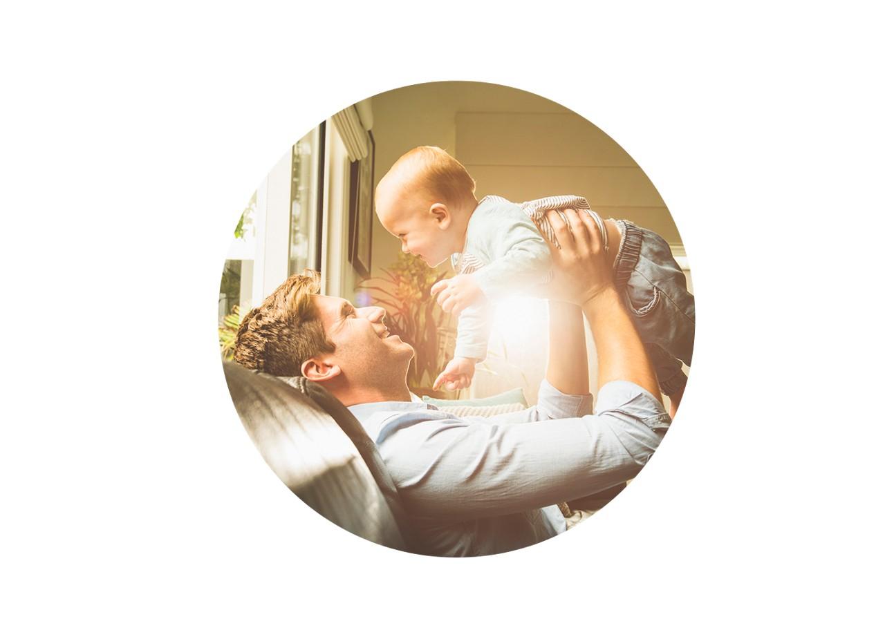 Aptaclub father lfits baby