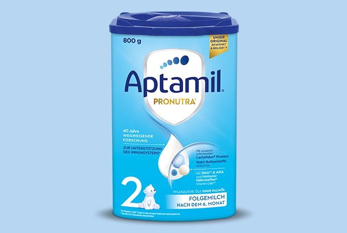 Aptamil Pronutra 2 im neuen Design