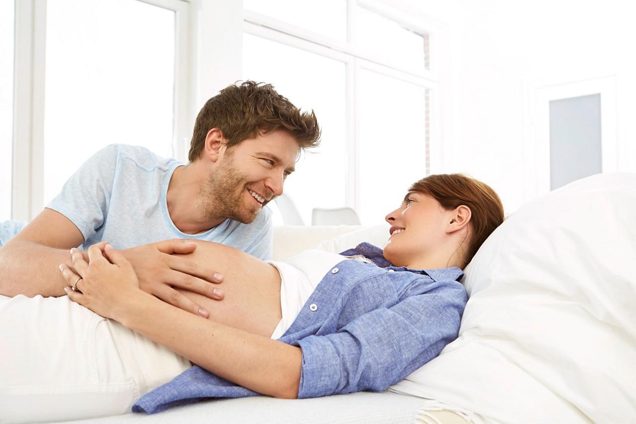 Erste Anzeichen der Geburt