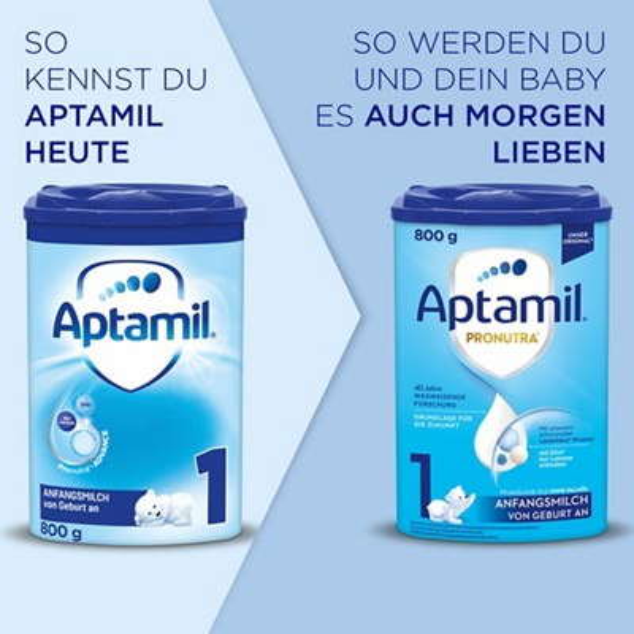 Aptamil 1 Pronutra