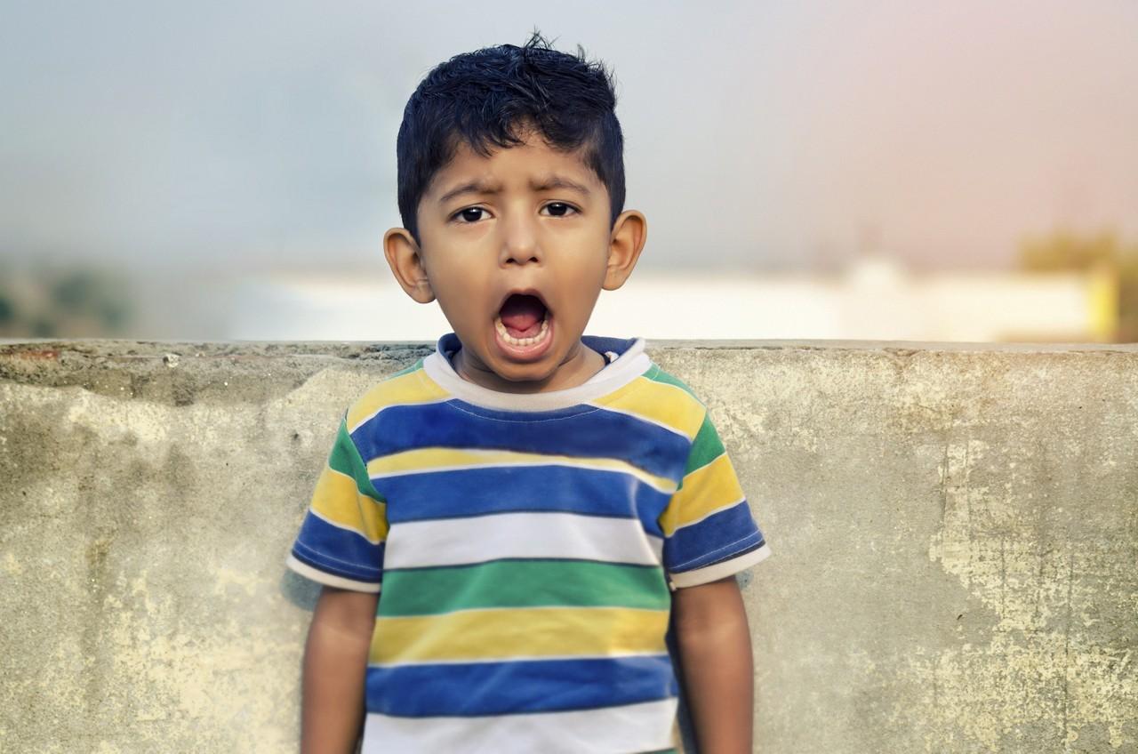 AptaGro boy screaming article website