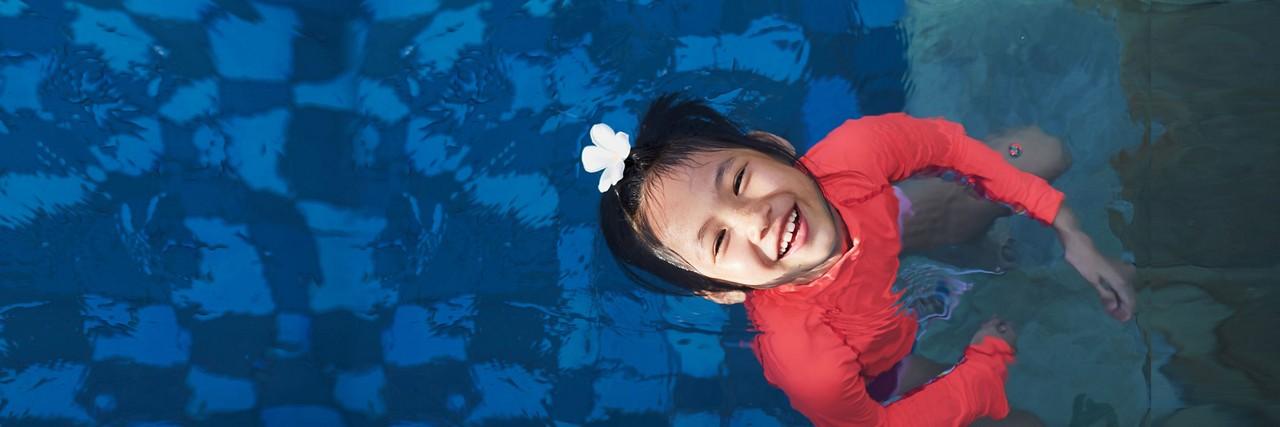 AptaGro child swimming article header