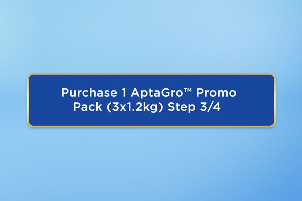 AptaGro NCP promo pack mechanics