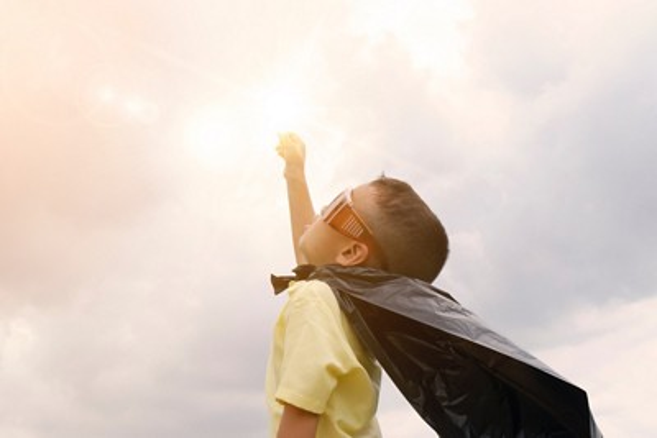 AptaGro superhero boy article website