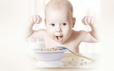 Baby food banner