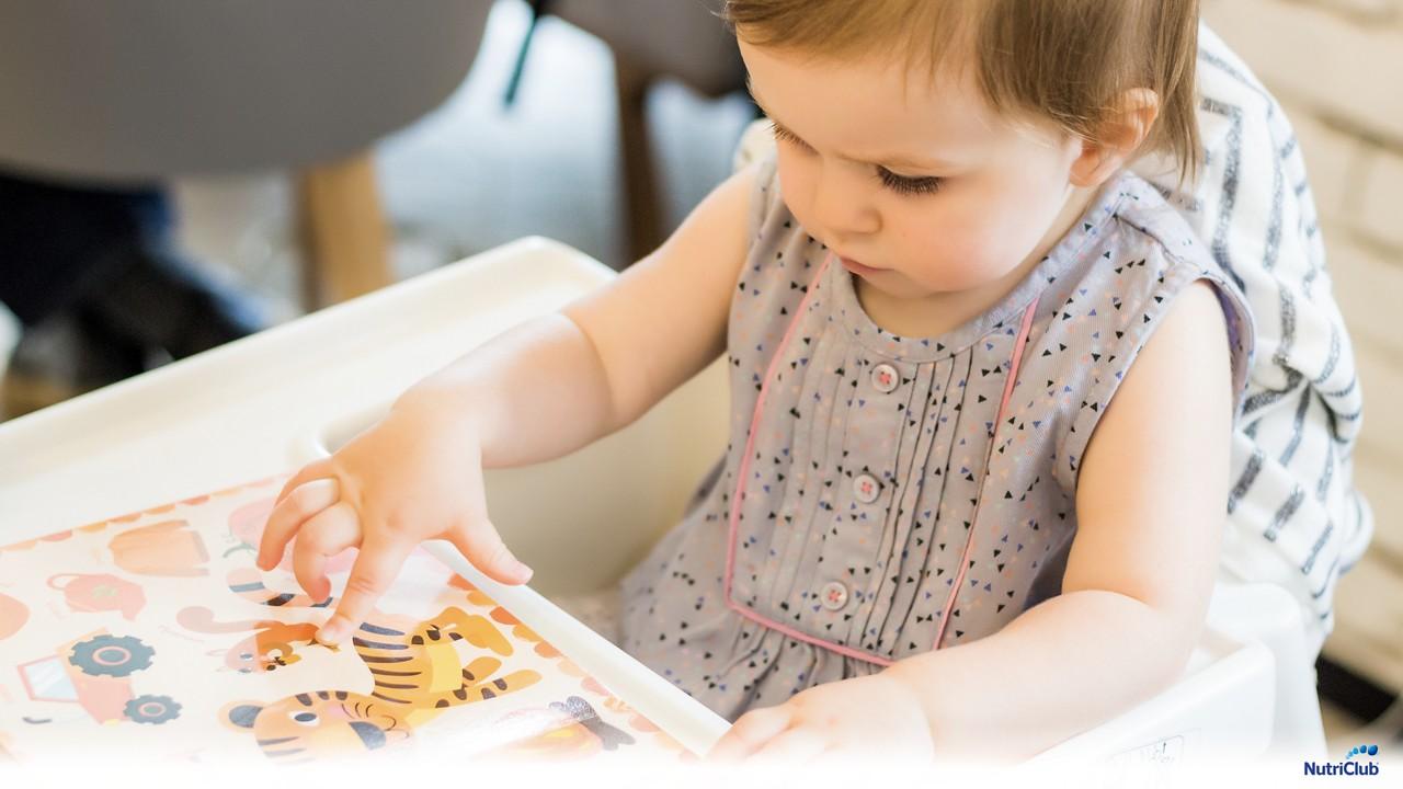 Как научить ребенка словам