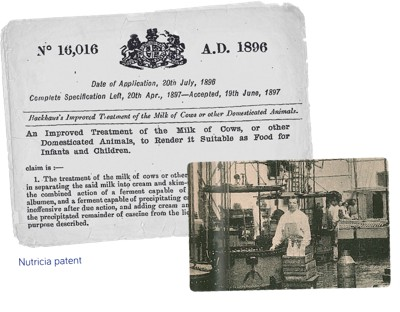 Backhaus patent and factory