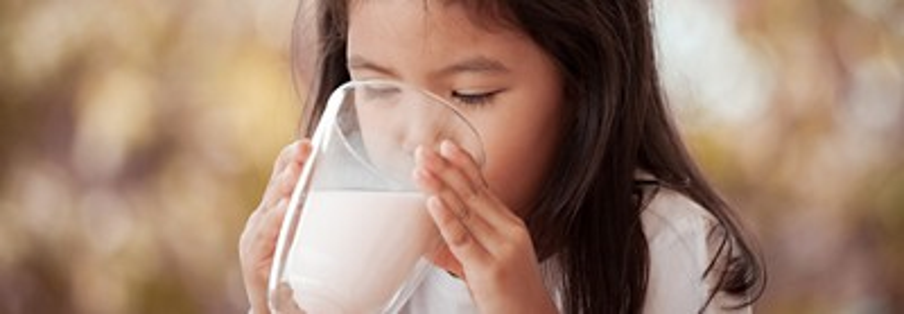 Dugro anak minum soya banner