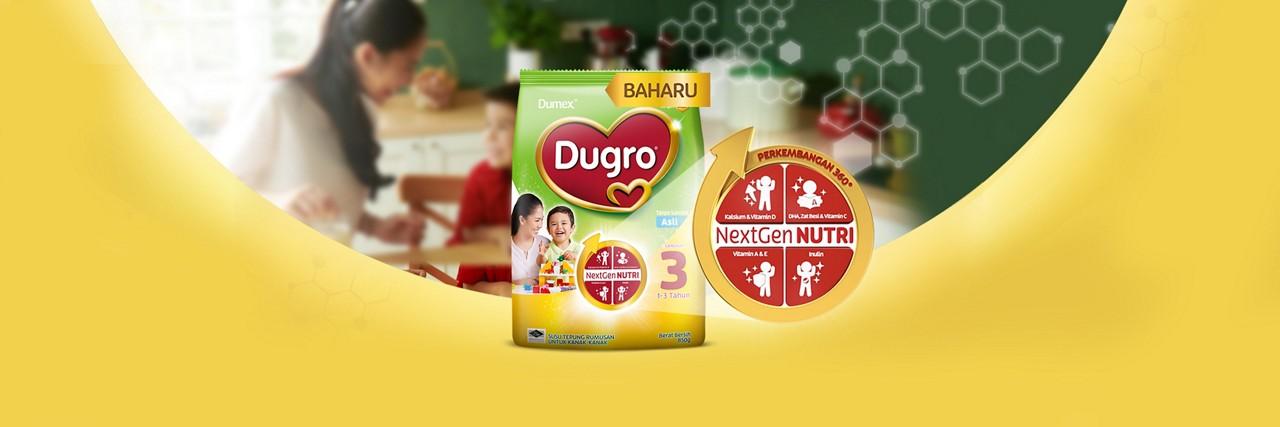 Dugro NextGen homepage header