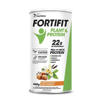 Fortifit Plant Protein 460g Baunilha Caramelo