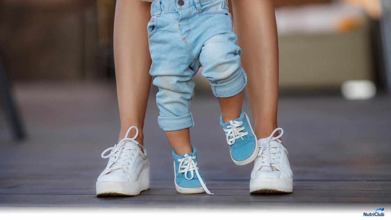 ребенок начал ходить