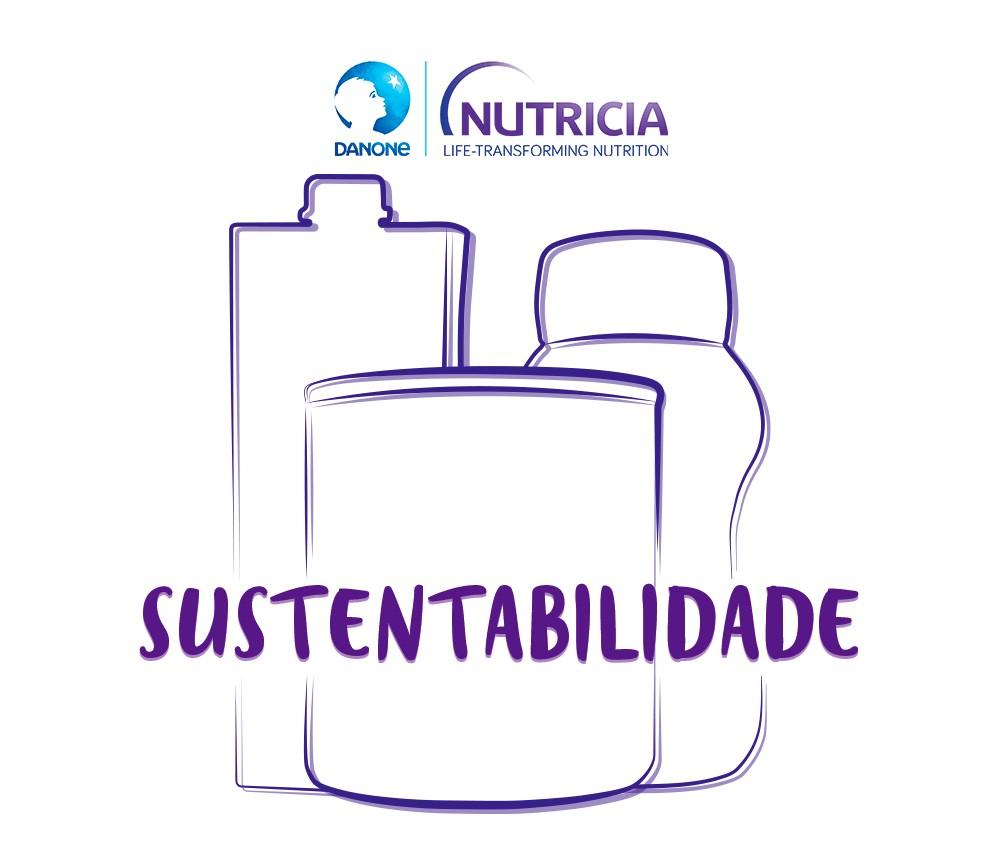 Sustentabilidade - Logo de Danone Nutricia