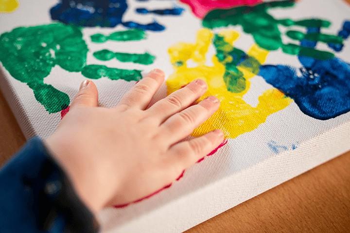 Hand und Fußabdrücke
