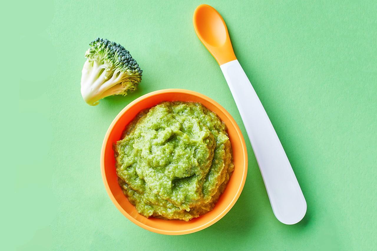 Gemüse-Fisch-Brei