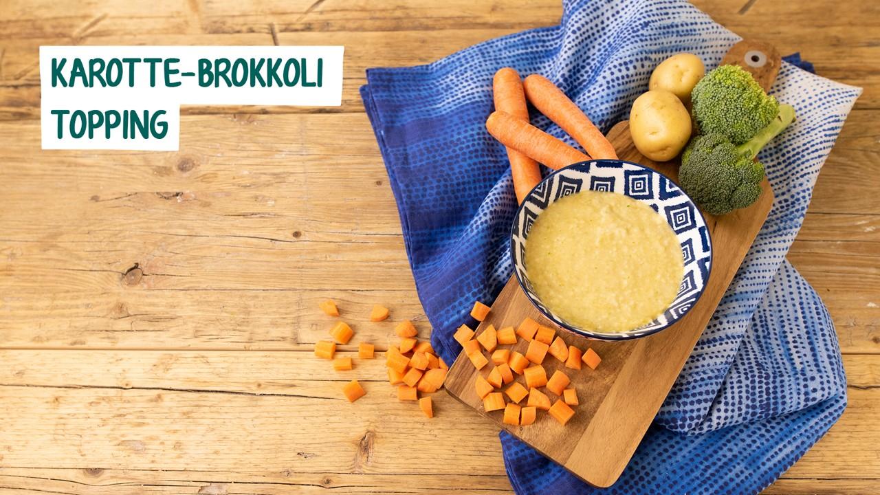 Zutaten für Karotten Brokkoli Topping