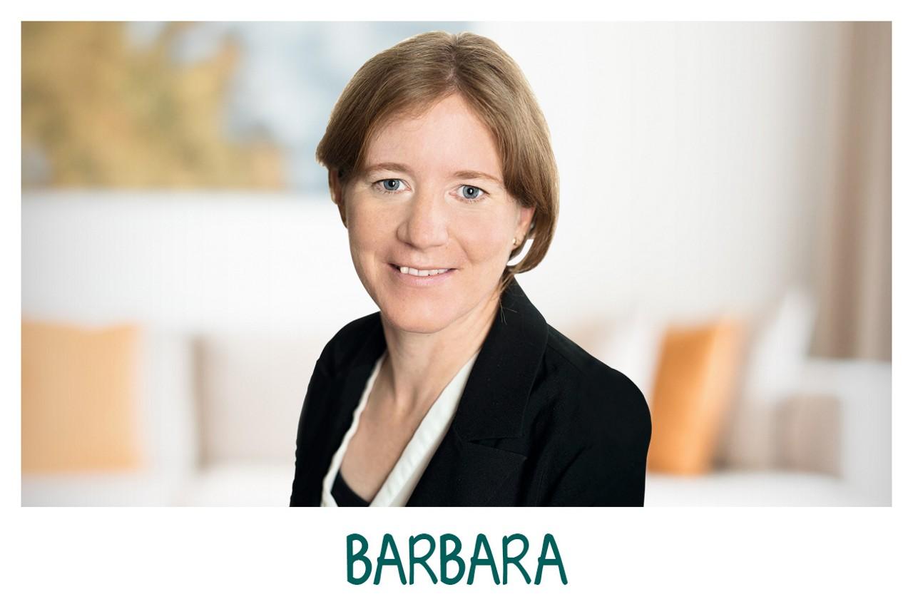 Barbara aus Milupa Eltern + Baby Club Team