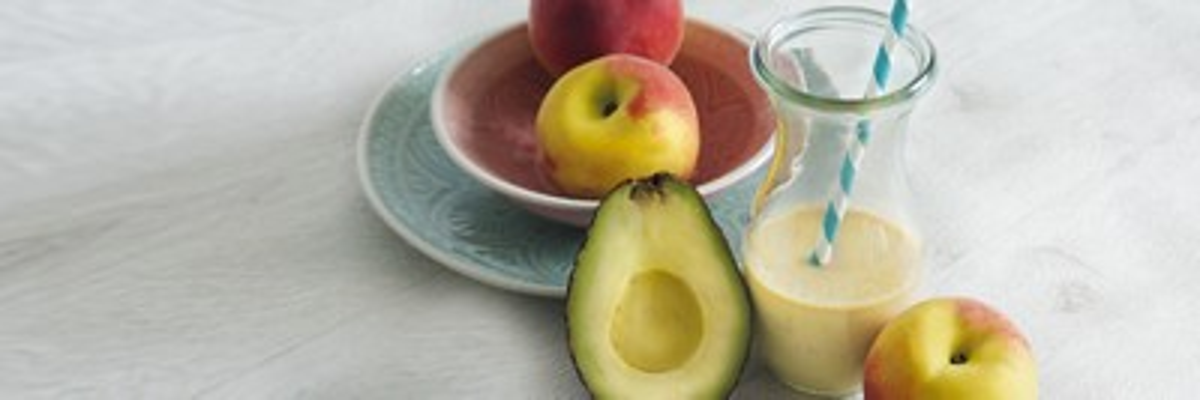 Milupa DE header smoothies pfirsich avocado
