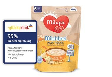 Milupa DE milde fruechte sticker dm empfehlung