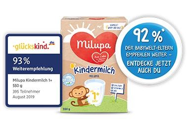 Kindermilch 1+ DM und Rossmann Empfehlung