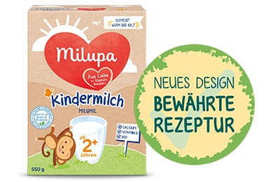 Kindermilch neues bewährtes Rezeptur