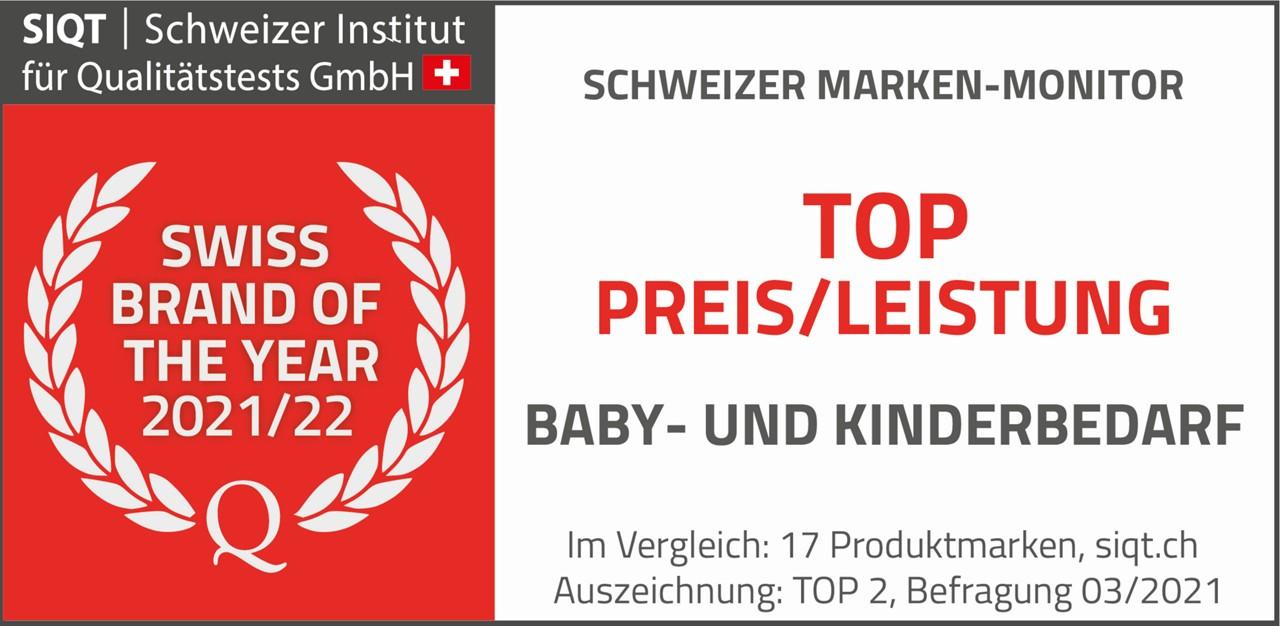 Swiss Brand of the year 2021/22 DE quer