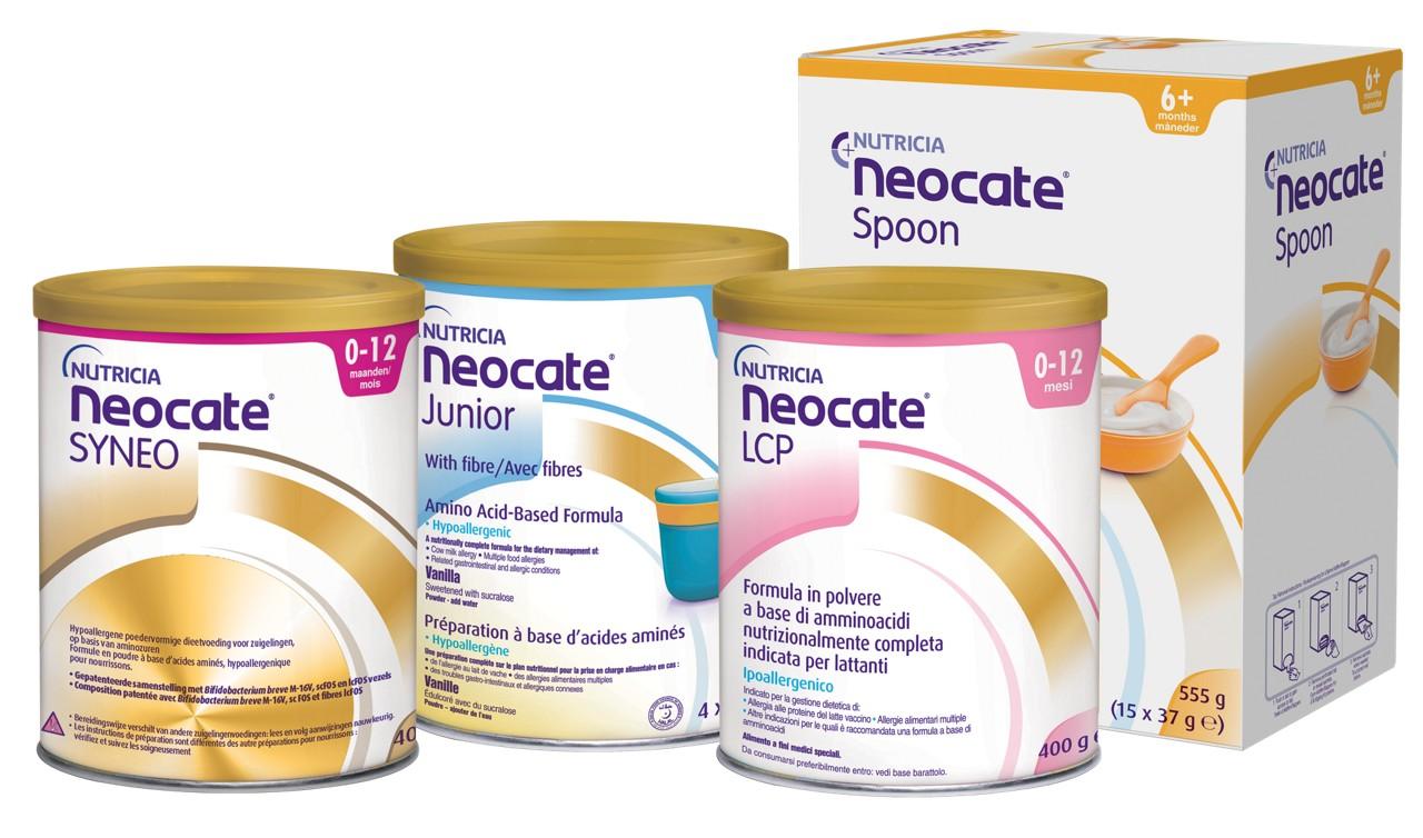 Neocate range allergy