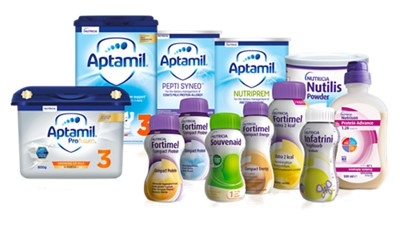 Nutricia endorsed products 2