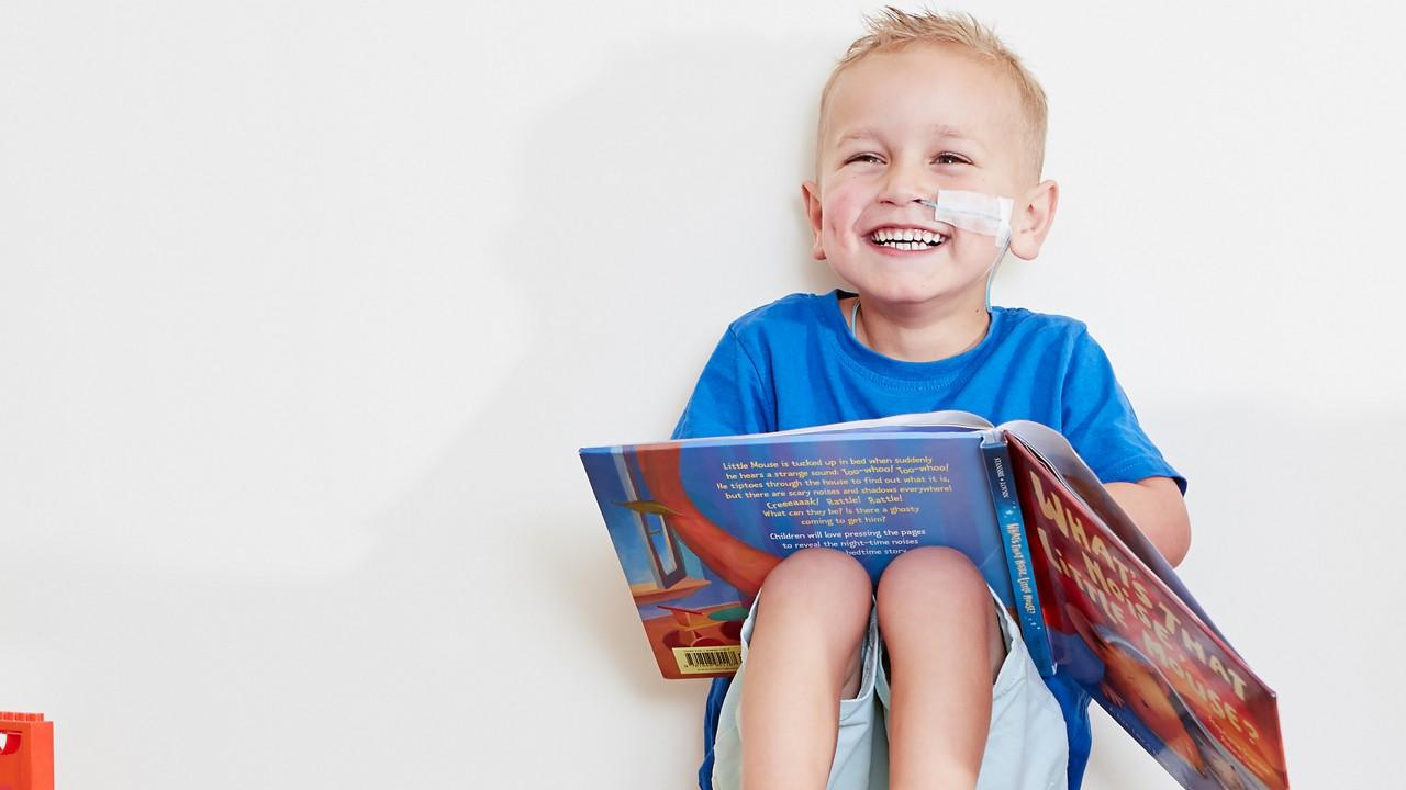 Pediatric DRM happy boy book 3840px
