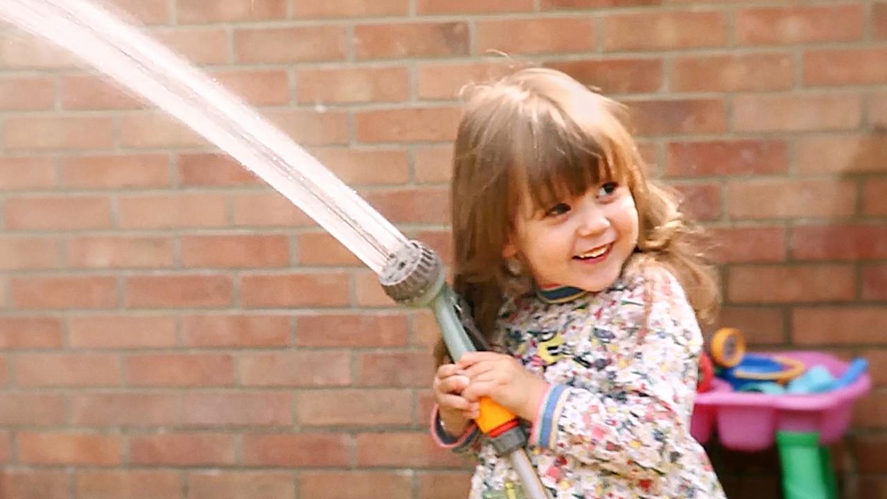 Preterm little girl hose smaller