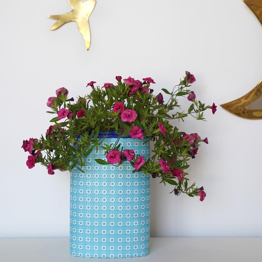 Aptamil Verpackung als Blumentopf