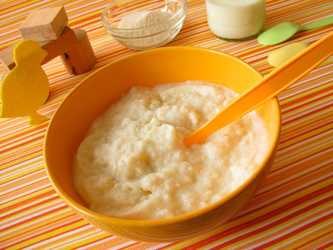 Apple baby rice