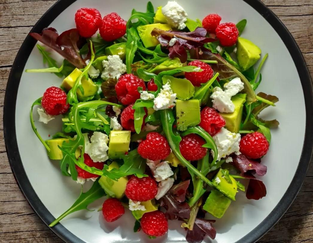 Aptaclub DE rezept himbeer avocado salat
