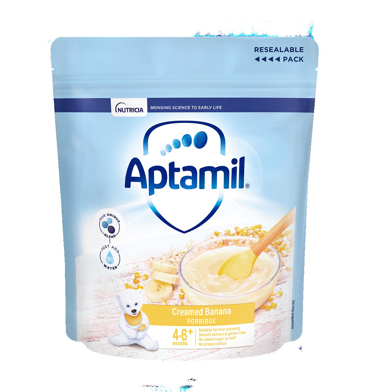 Aptamil® Creamed Banana Porridge