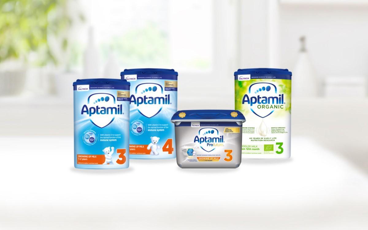 Aptamil Growing Up Milks12+ Months header organic