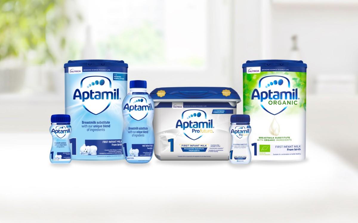 Aptamil Milks from Birth header organic