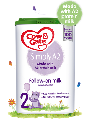 NEW Cow and Gate Simply A2 Follow-on Milk