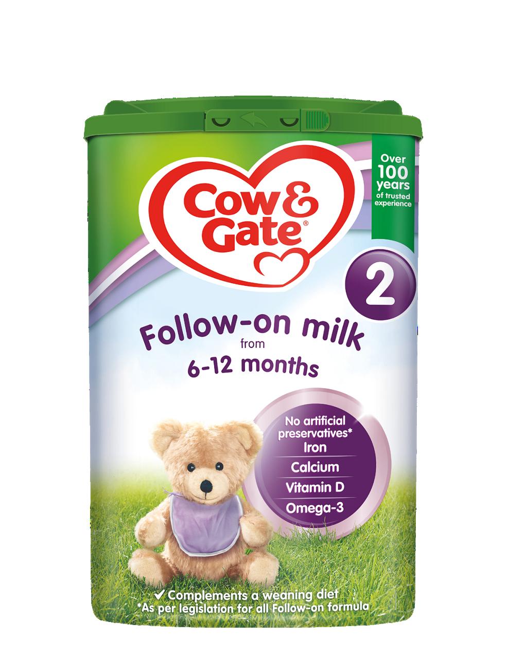 Previous Cow & Gate Stage 2 Follow-on Milk Powder 800g