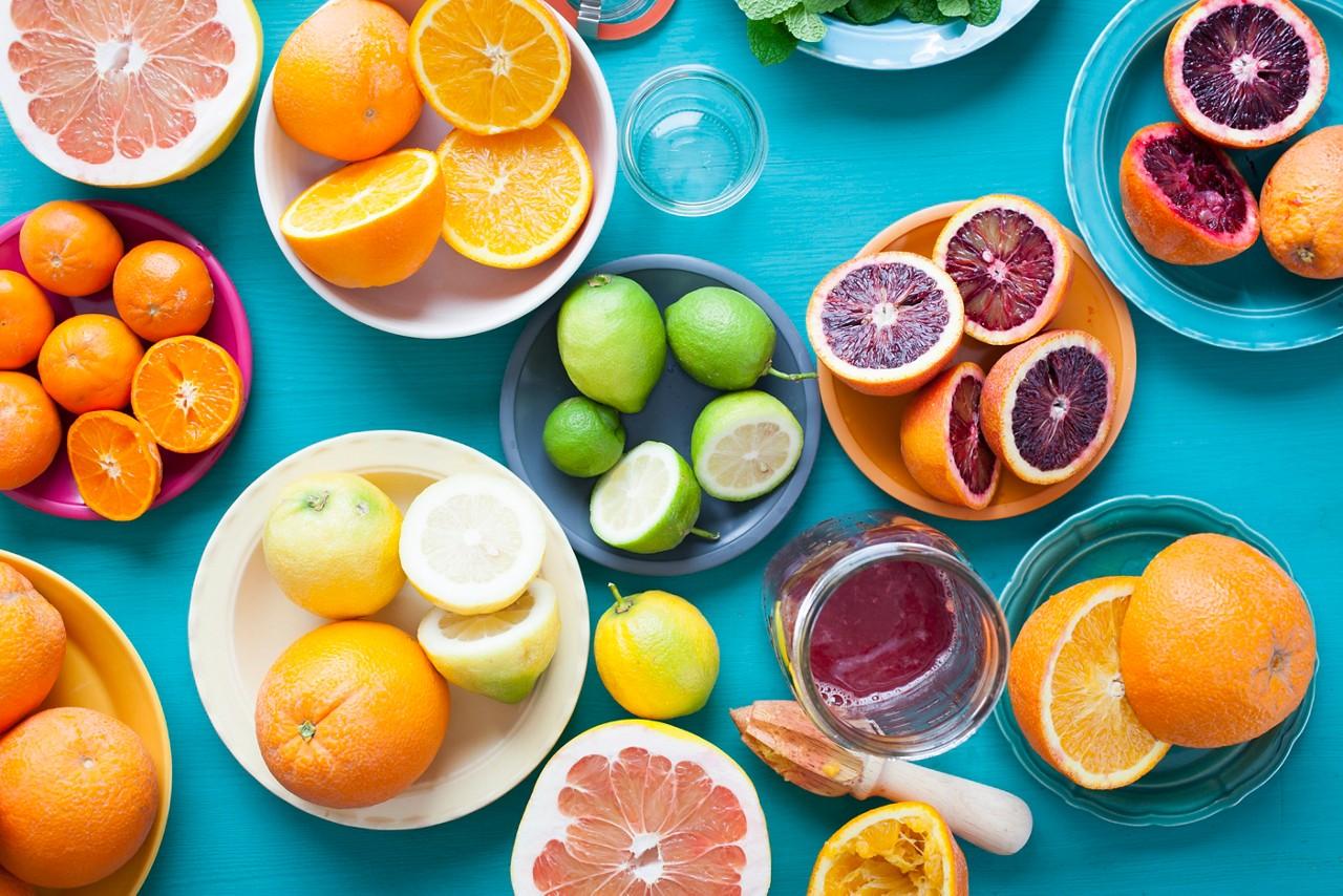 Fruits high vitamin c