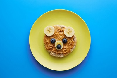 Food for kids funny bear