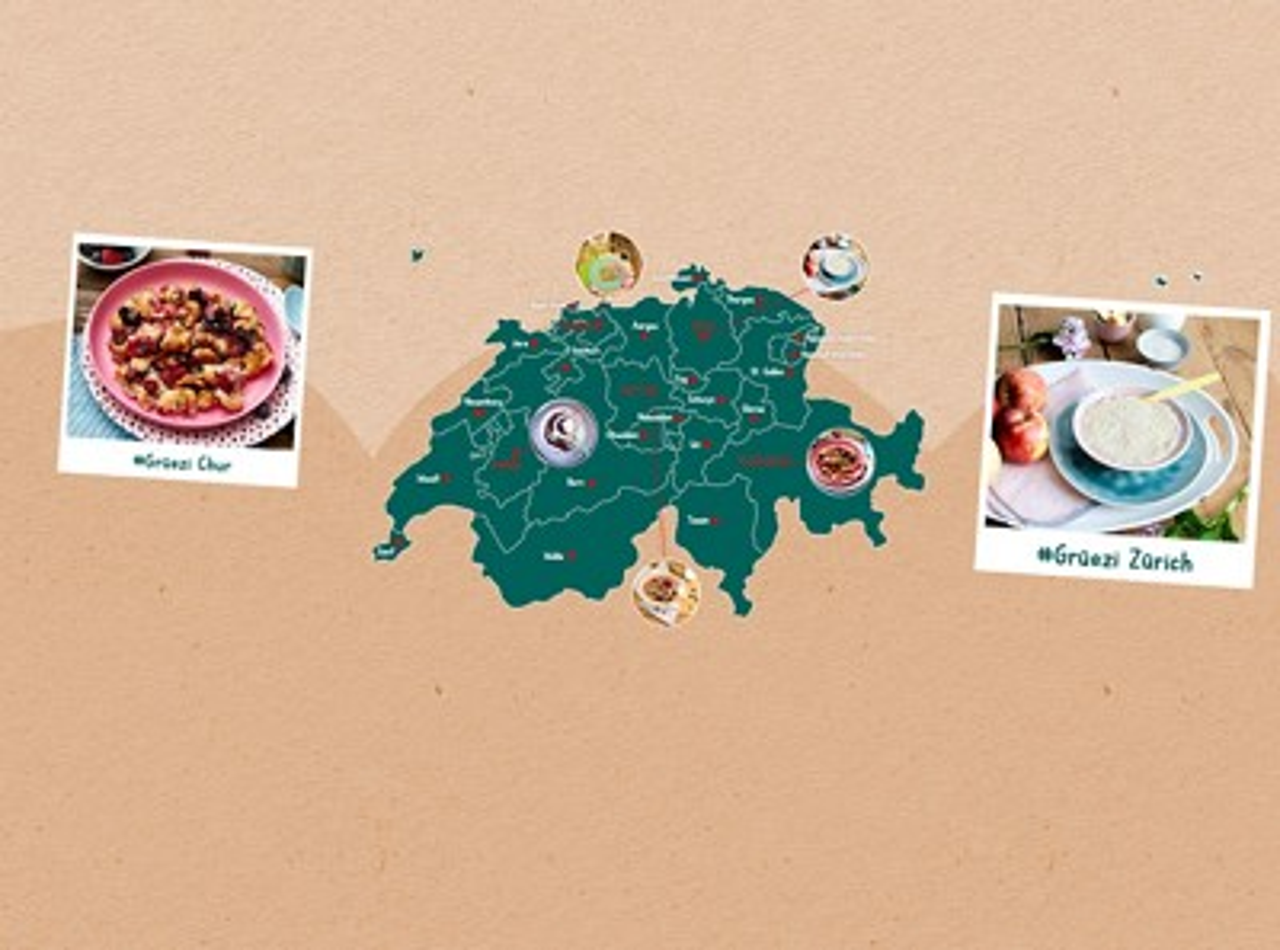 Schweiz regionale Rezepte